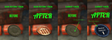 Subway and Library Tokens