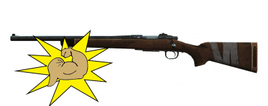 A Buffed Hunting Rifle