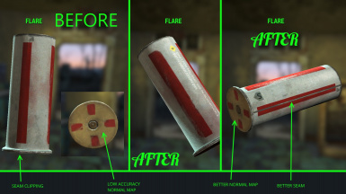 Flaregun Ammo Retexture Fixes