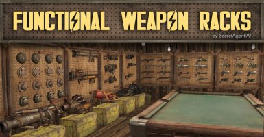 Functional Weapon Racks - Francais