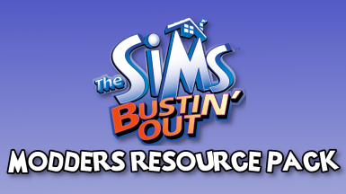 The Sims Bustin' Out Modders Resource Pack