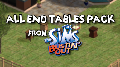 All End Tables Pack from Bustin' Out
