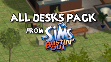All Desks Pack from Bustin' Out