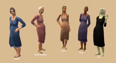 BG EF Dress Long Recolors