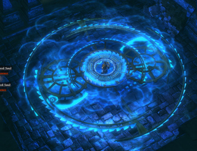 Blade Vortex Path of Exile Skill Effect with 1000 movement speed