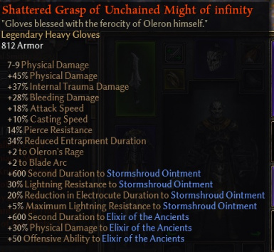 Shattered Affixes