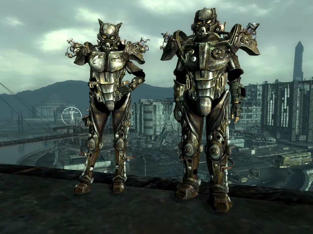 where to find power armor in fallout 3