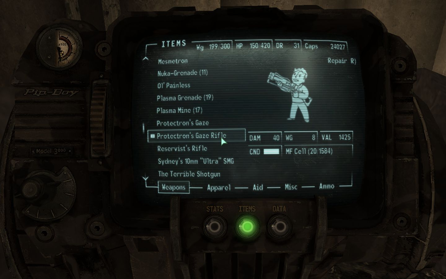 Protectrons Gaze Rifle At Fallout3 Nexus Mods And Community