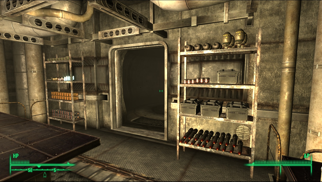 Zombie apocalypse wasteland house at fallout3 nexus mods for Indoor range design guide