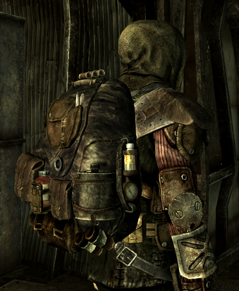 Leather backpack at Fallout3 Nexus - mods and community