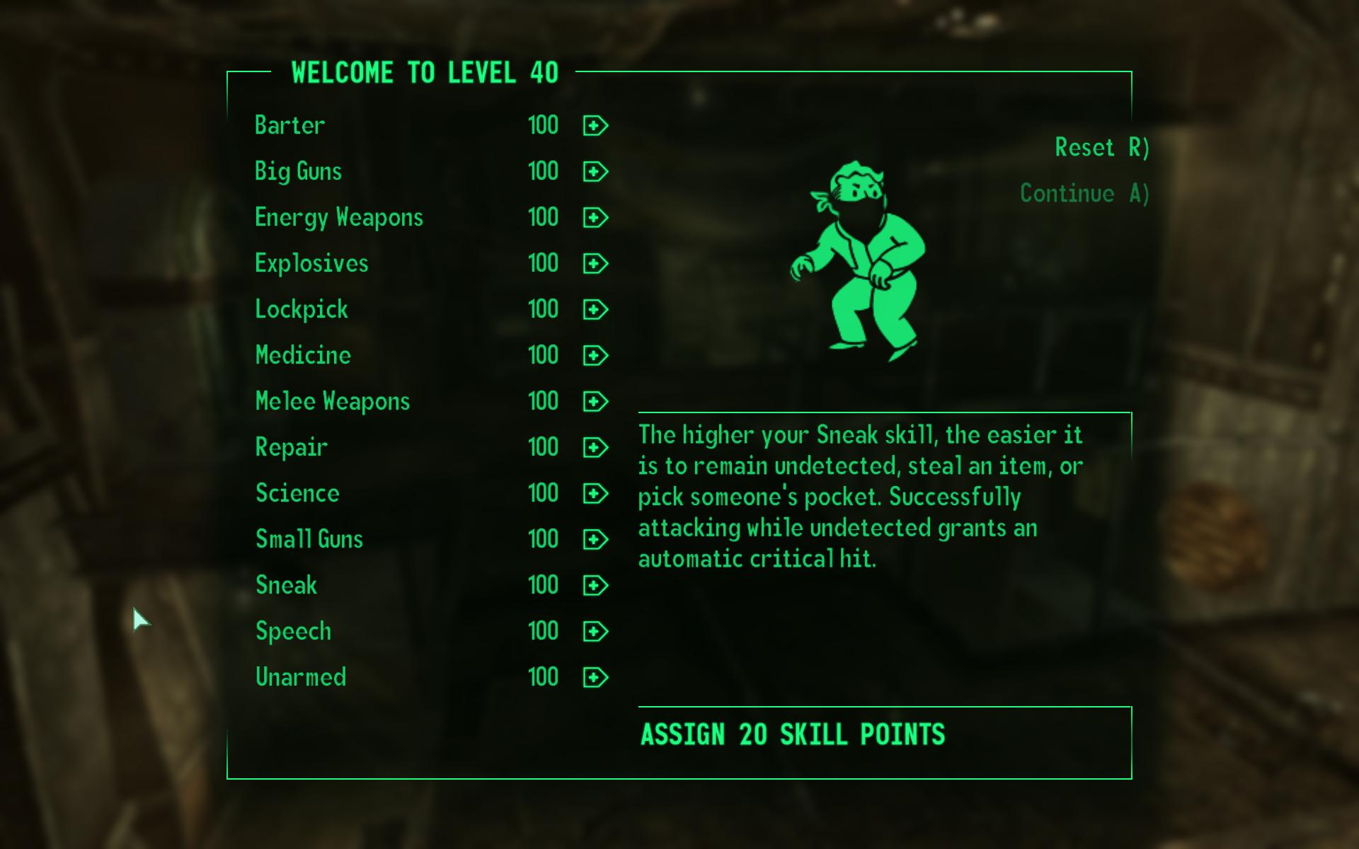 how to know your karma level in fallout 3