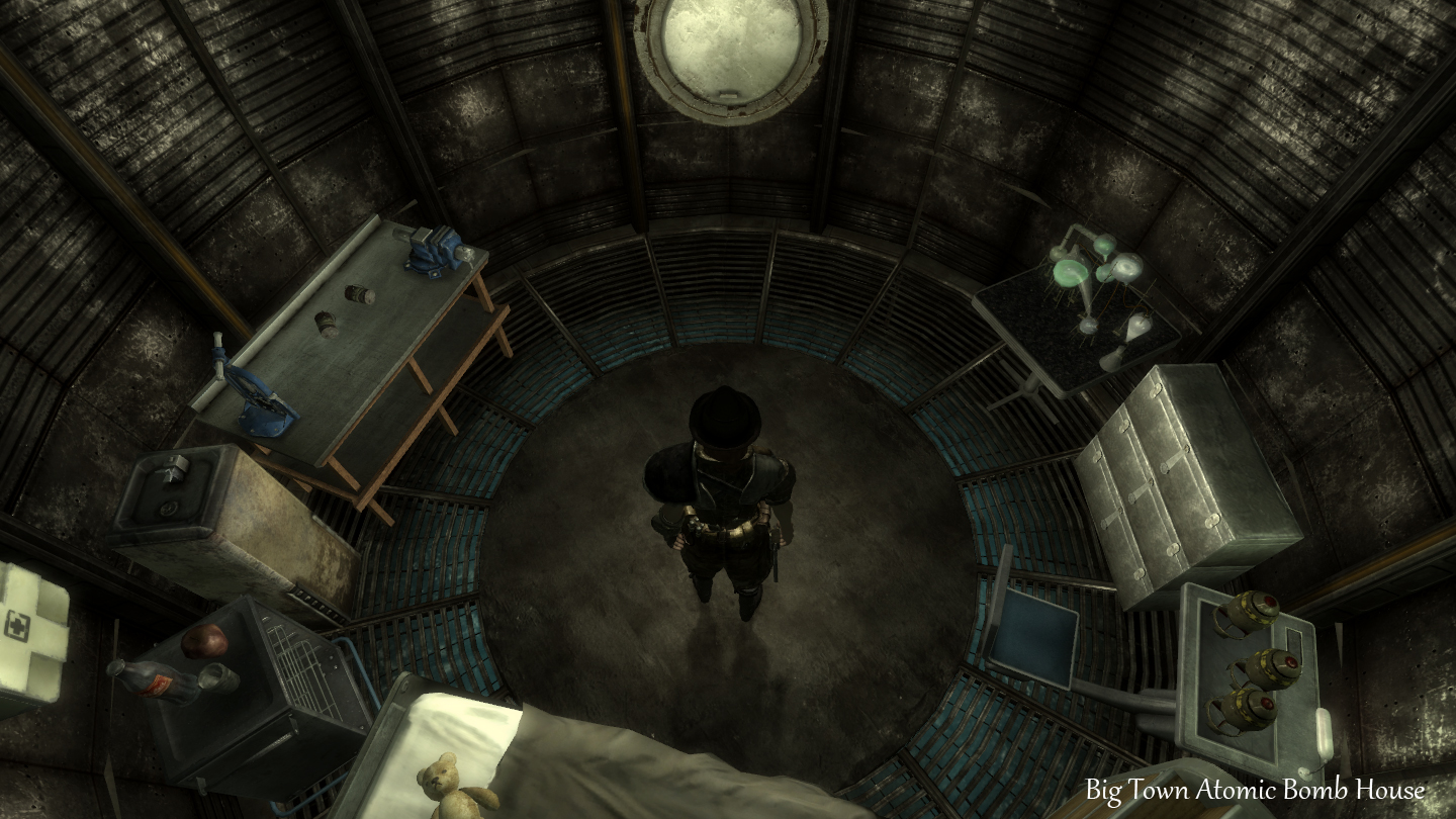 how to get to big town fallout 3