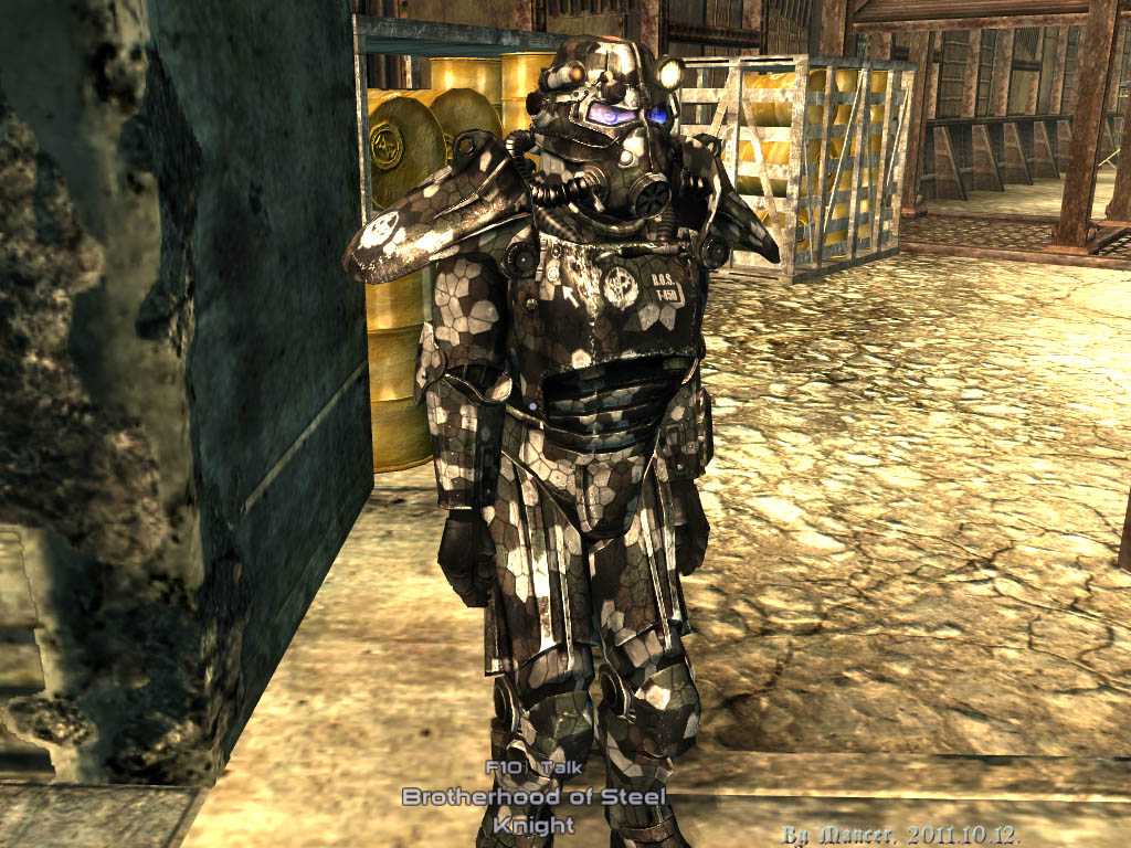 how to use power armor fallout 3