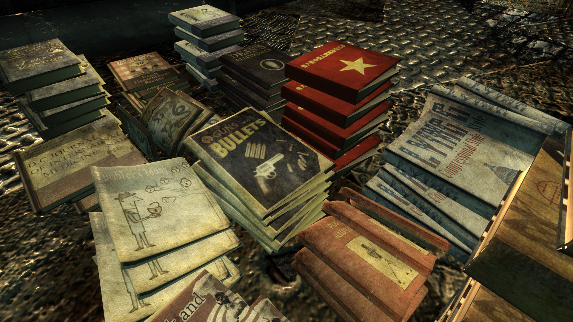 Skill Books Hi-Res Retexture at Fallout3 Nexus - mods and ...