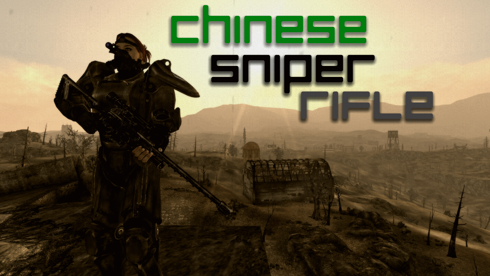 Chinese Sniper Rifle - Unique Weapon at Fallout3 Nexus - mods and community