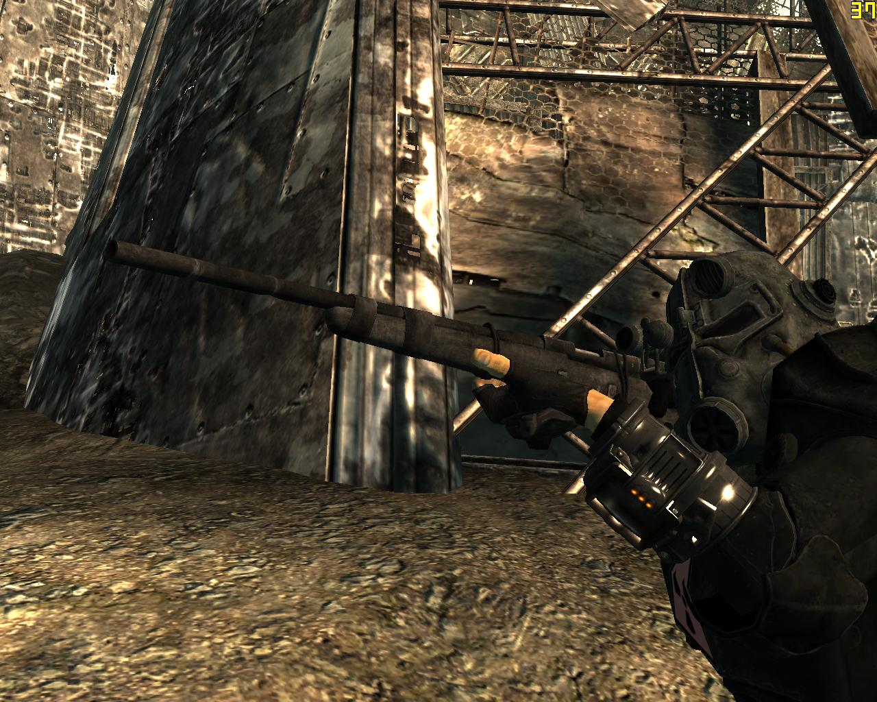 Hunting Rifle Black at Fallout3 Nexus - mods and community