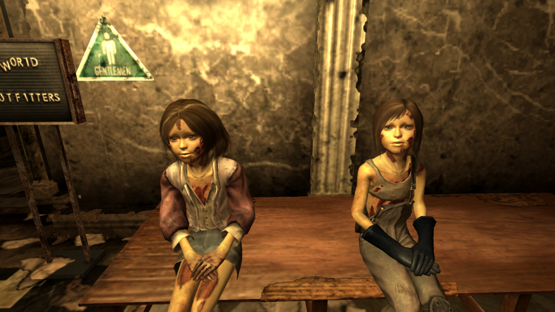 Underworld CoTW Ghoul Kids at Fallout3 Nexus - mods and