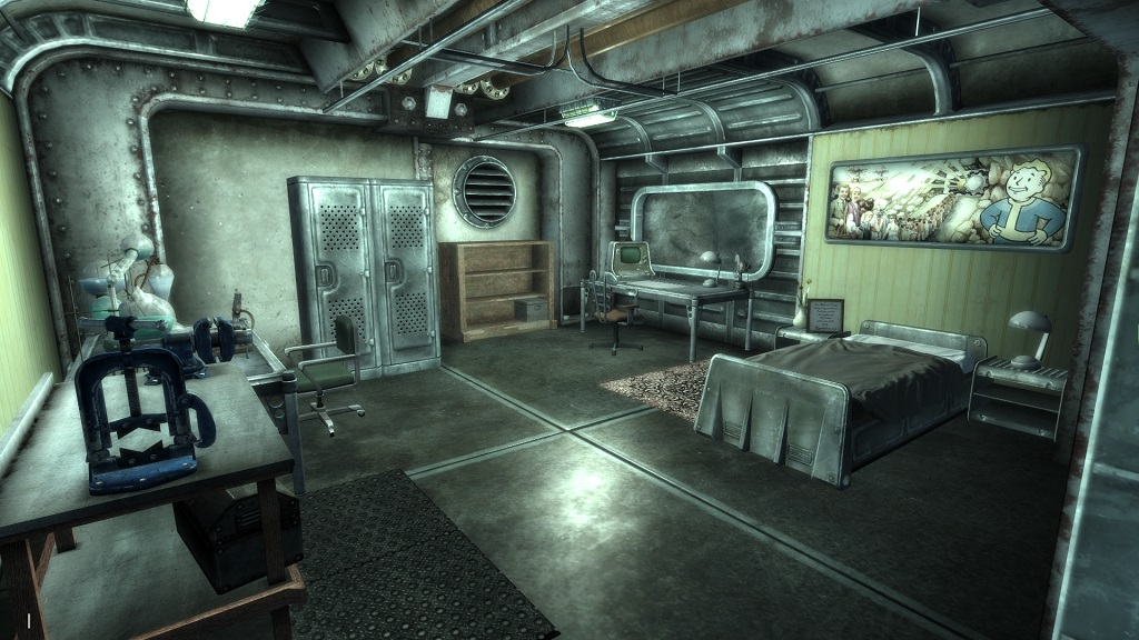 Vault 101 Revisited James Room At Fallout3 Nexus Mods