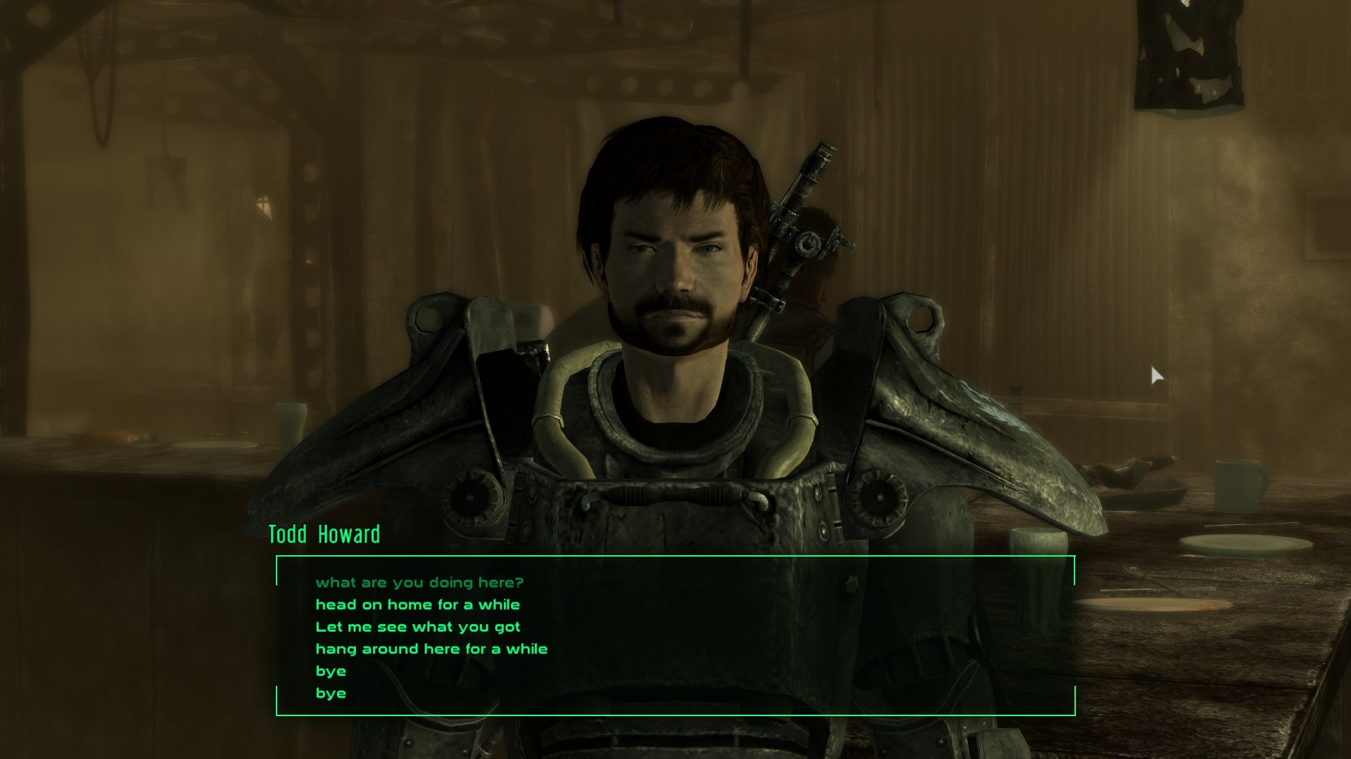 Todd Howard Companion Mod At Fallout3 Nexus Mods And Community