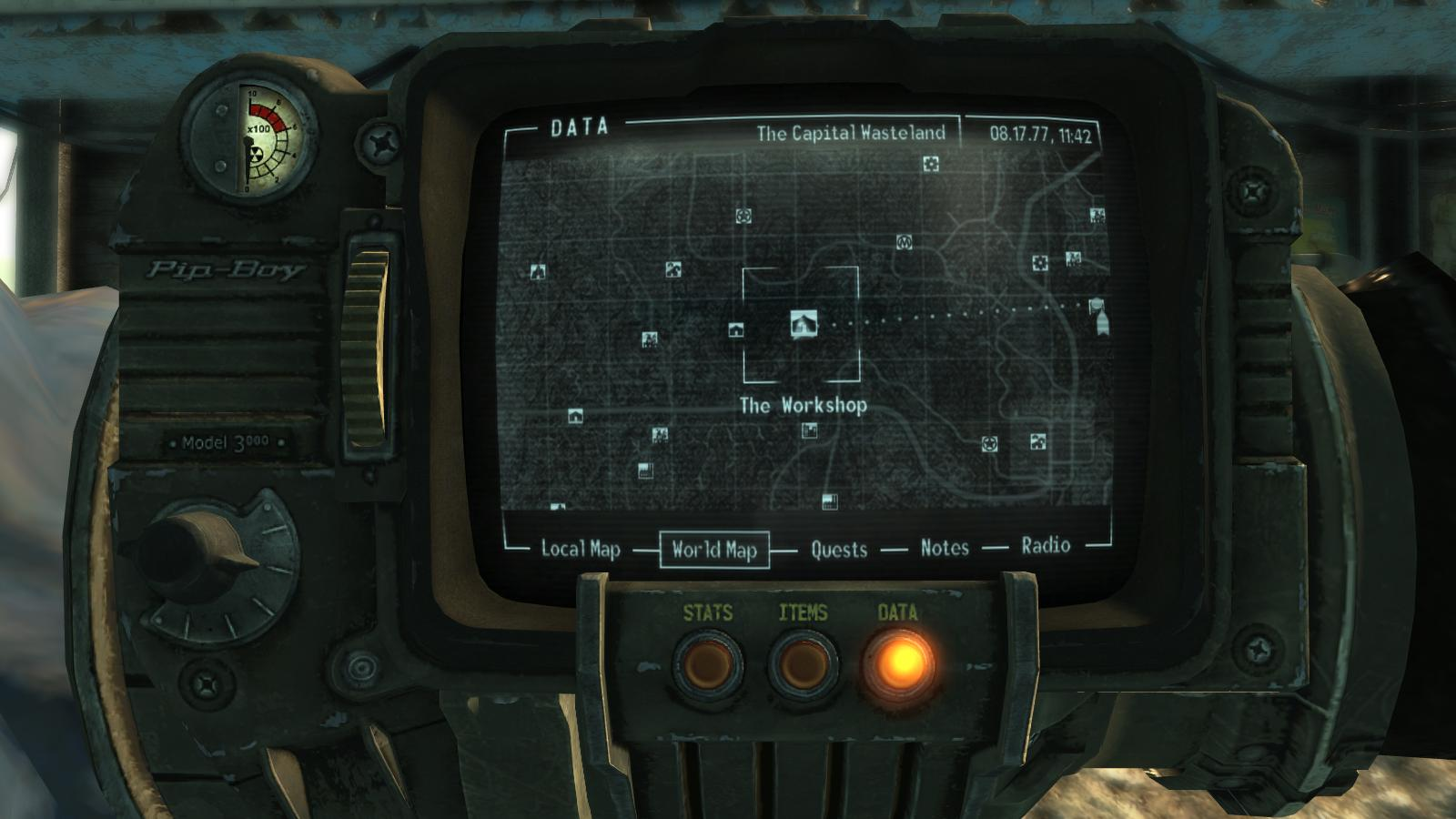 Model home in fallout 3