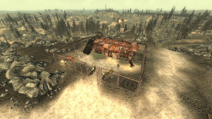 fallout 3 how to get to minefield