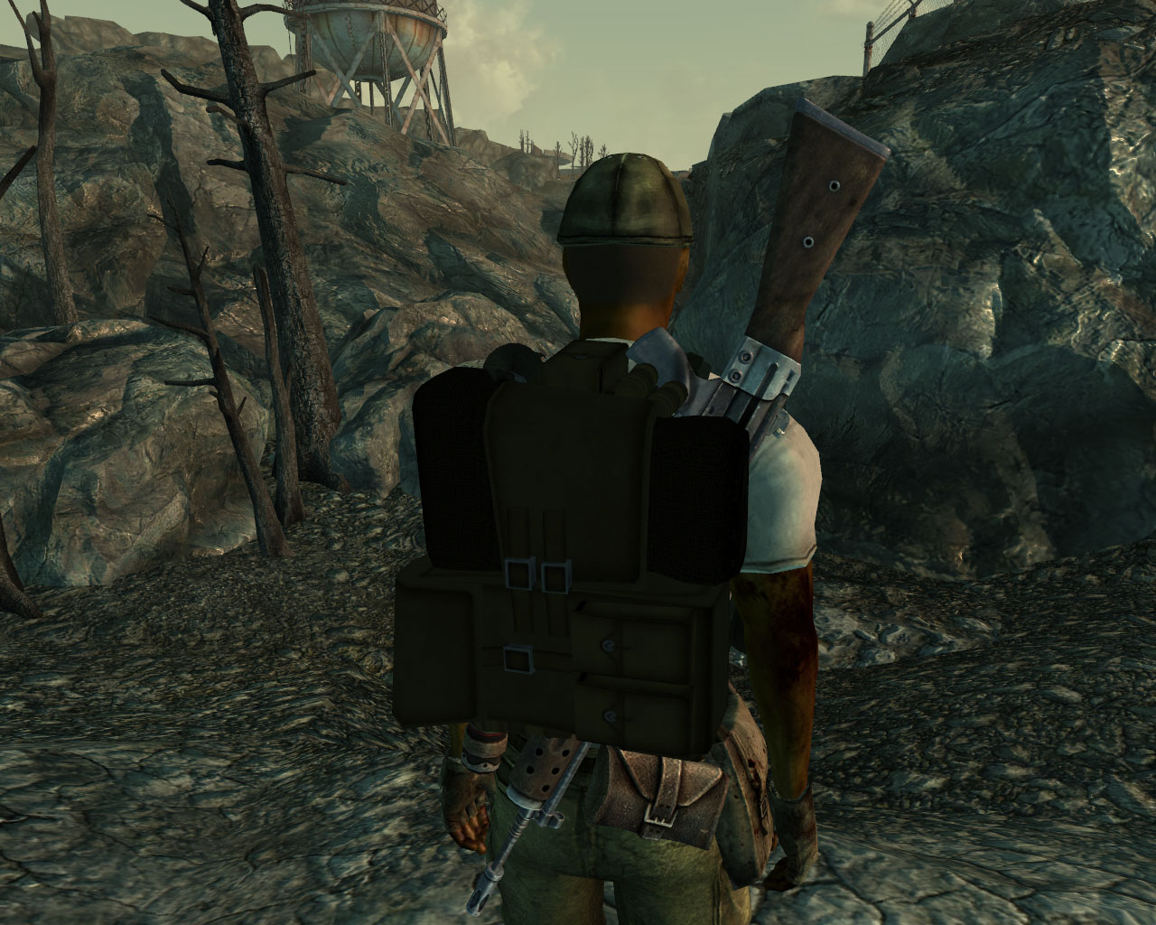 Wearable Backpack at Fallout3 Nexus - mods and community