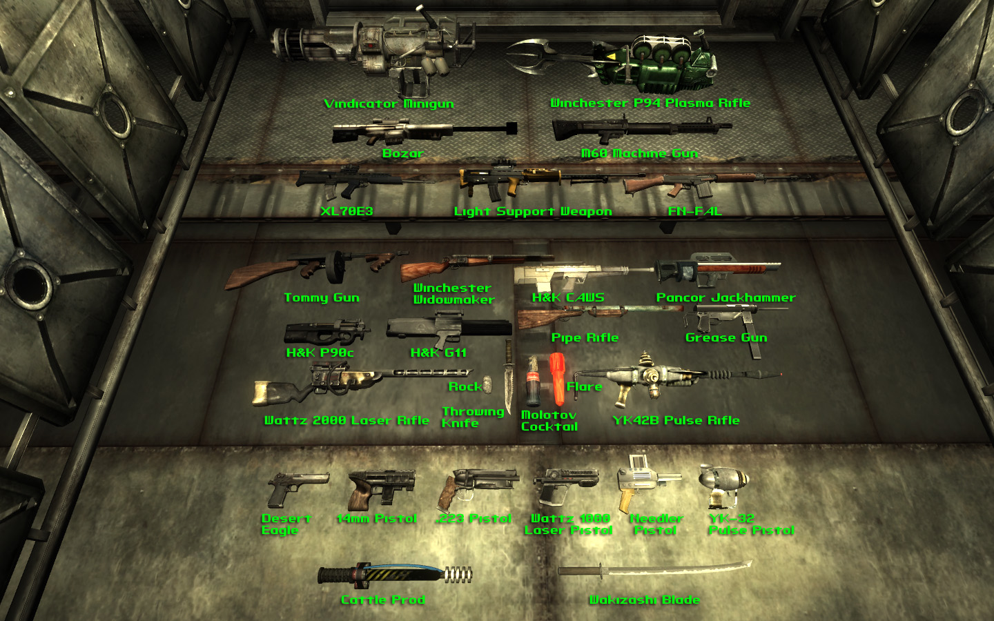Classic Fallout Weapons BETA at Fallout3 Nexus - mods and ...