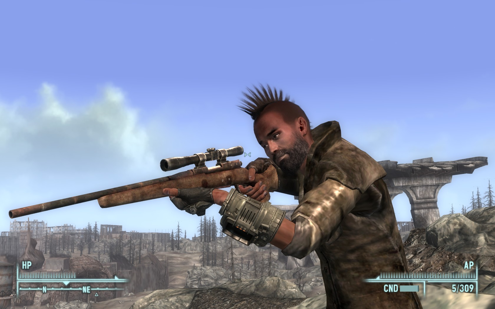 Scoped Hunting Rifle Unique Ol Painless at Fallout3 Nexus - mods and community
