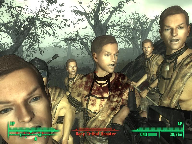 The Gary Tribe Of Point LookOut At Fallout3 Nexus