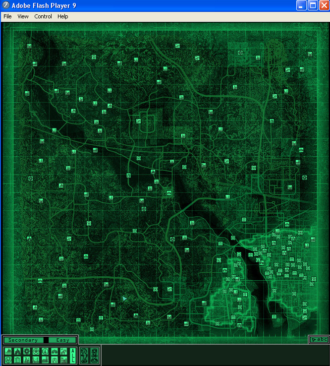 Fallout 3 Flash Map at Fallout3 Nexus mods and community