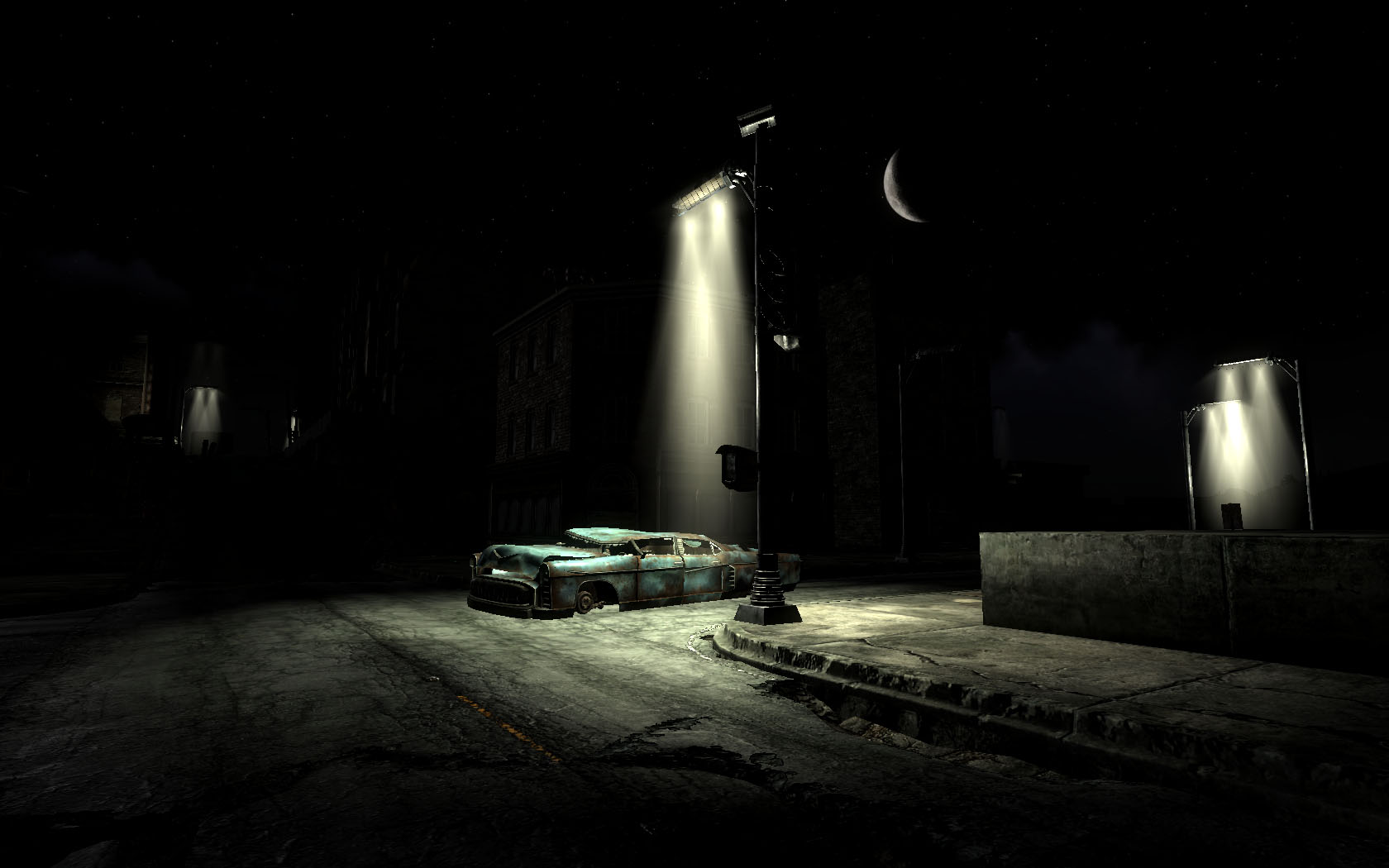 How To Use Wall Lights Fallout 4 : Fallout Street Lights at Fallout3 Nexus - mods and community