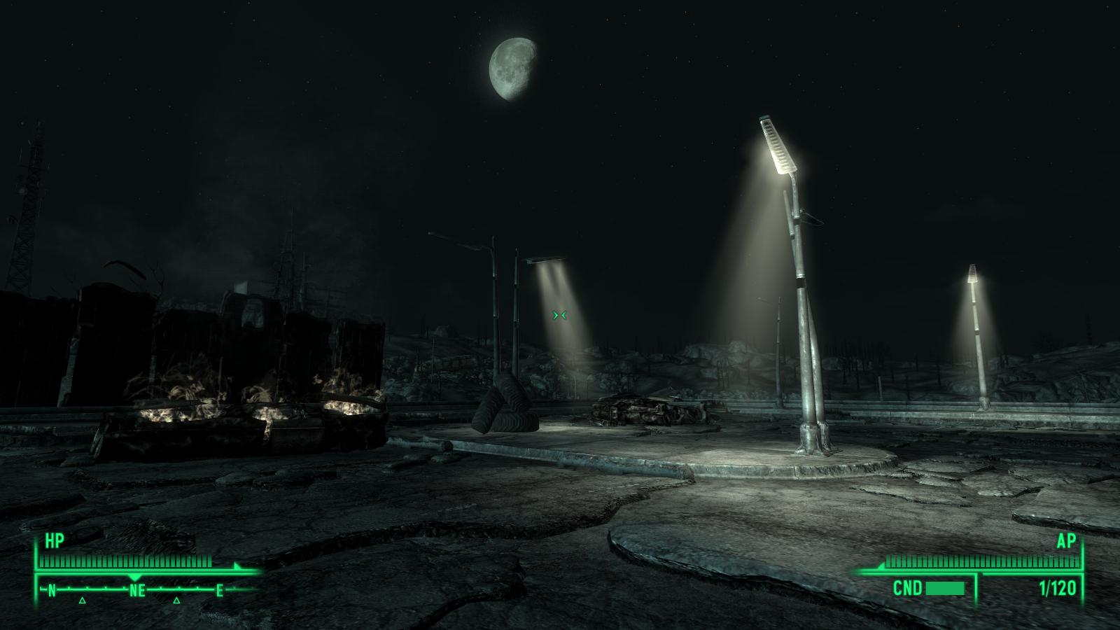 Fallout street lights at fallout3 nexus mods and community for Entrance to rivet city