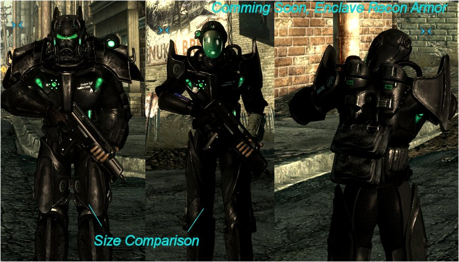 COL Enclave Replacer At Fallout3 Nexus