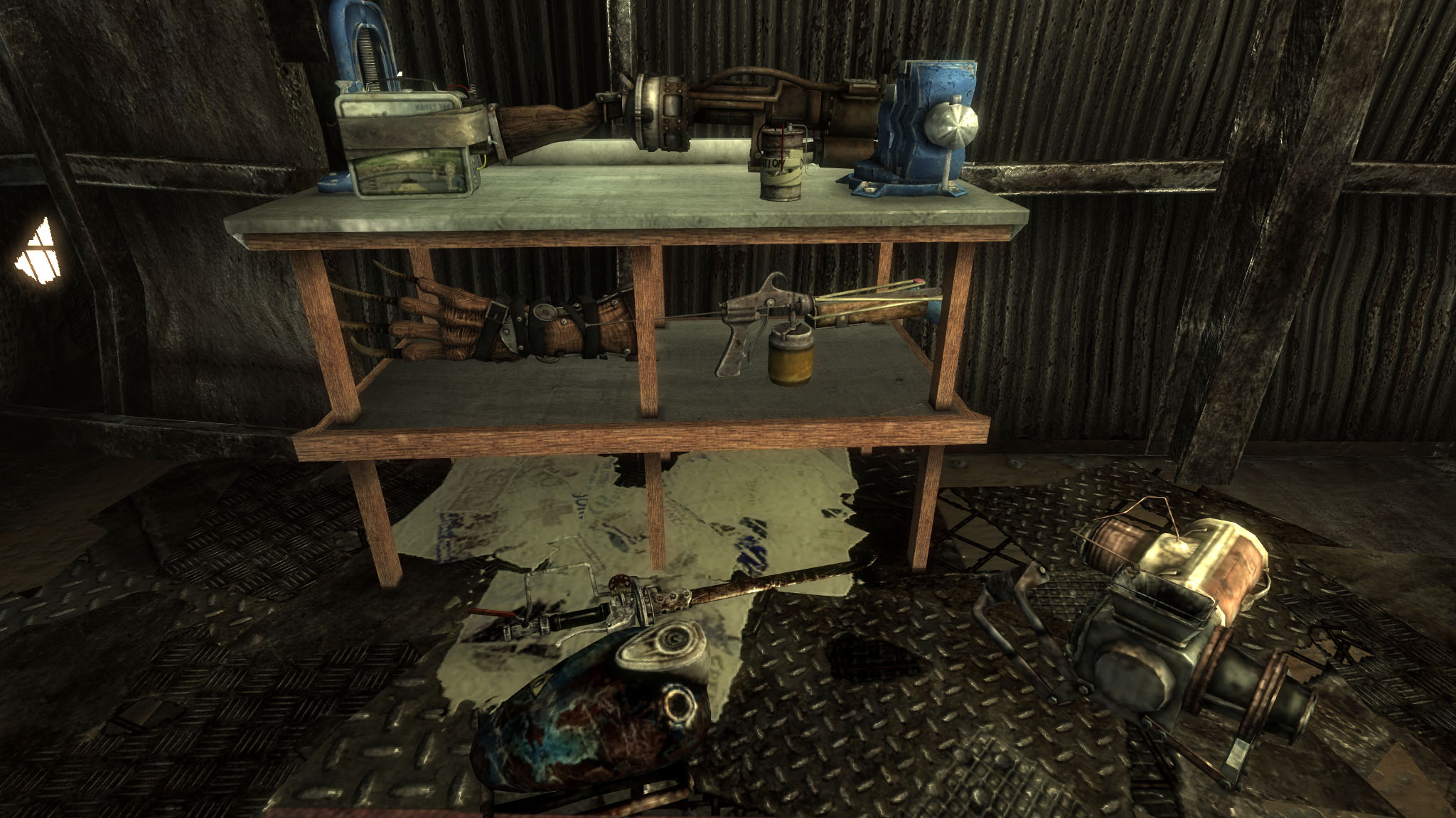 Stupendous Workbench Items Rebalanced At Fallout3 Nexus Mods And Caraccident5 Cool Chair Designs And Ideas Caraccident5Info