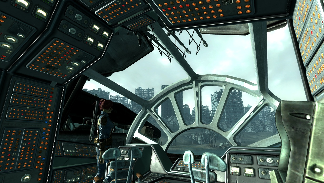 Millennium falcon at fallout3 nexus mods and community for Interieur faucon millenium