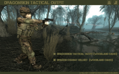 Dragonskin Tactical Outfit - Woodland