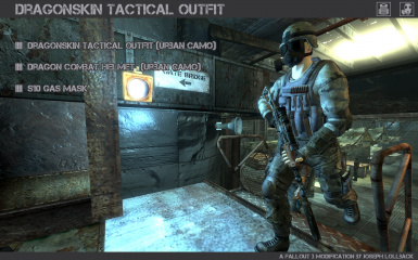 Dragonskin Tactical Outfit - Urban