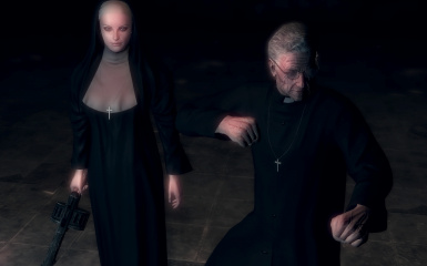Father and Nun clothes
