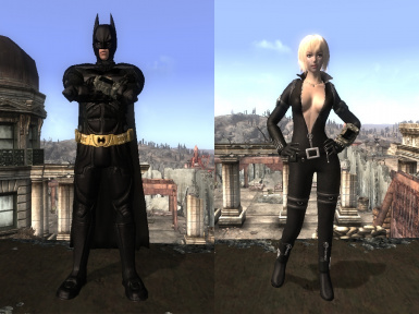 Asharas Batman and Catwoman mod - Type3