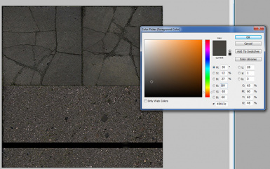 Colour Picker- Sidewalk