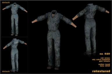 020 -  - Jumpsuit Robco Female
