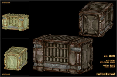 009 - Large Crate