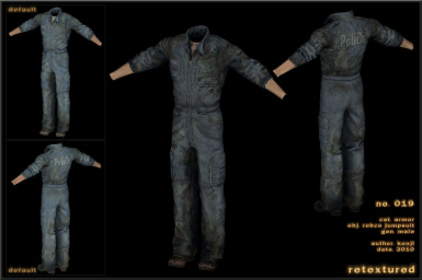 019 -  - Jumpsuit Robco Male