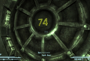 Make Your Own Vault Doors -Blank and 74 Too-