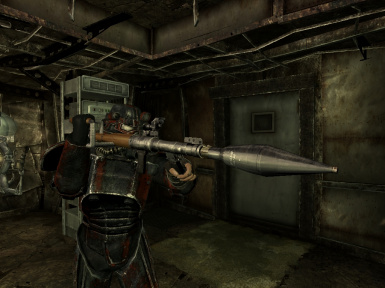RPG7 with rocket