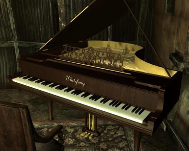 Whitefang Grand Piano model resource