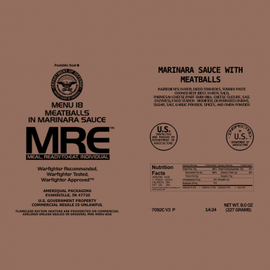 MRE Package 1
