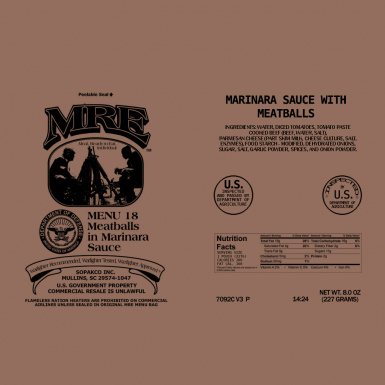 MRE Package 2