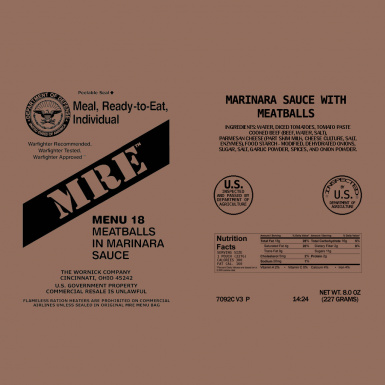 MRE Package 3