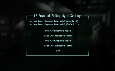 Action Point Powered PipBoy Light